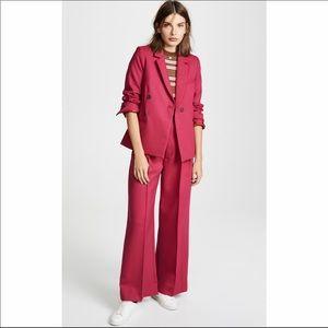 SEA Tradition Full Suit Pink Blazer Wide Leg Pants